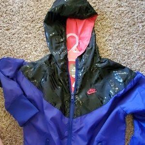 Nike Jackets & Coats - Purple and Black Nike Jacket